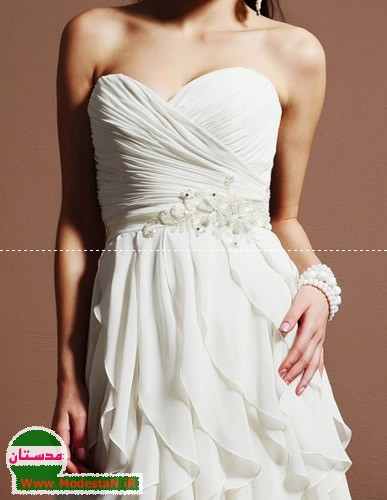 modestan.ir - مدل لباس عروس سری 3